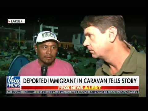 Illegal Immigrant Wanted for Attempted Murder Is Traveling with Caravan - Wants Back in US