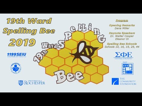 2019-04-06 - 19th Ward Spelling Bee - 2019