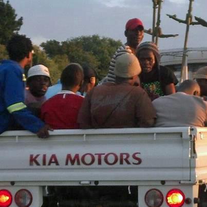 S Africa public transportation