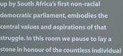 Apartheid statement 2