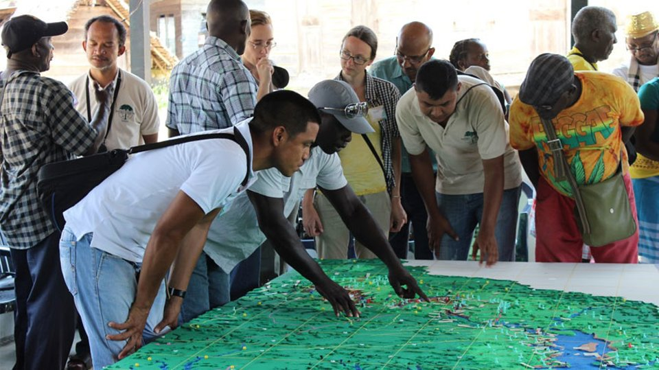 The enabling power of participatory 3D mapping among the Saramaccan People of Suriname