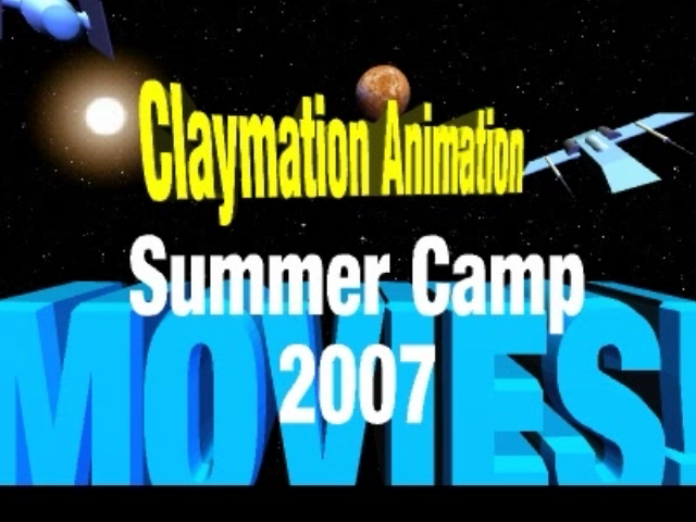 Claymation Animation Summer Camp