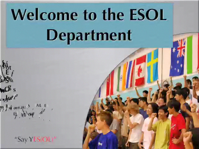 SAS ESOL Presentation
