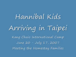 My students Arriving in Taipei 2007