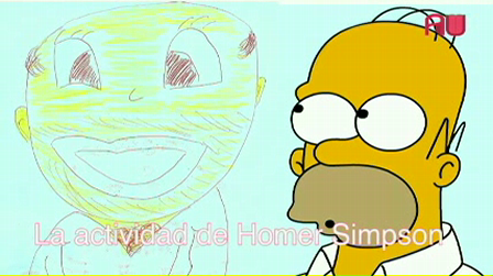 The Homer Simpson activity