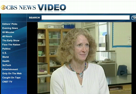 CBS NEWS:Researcher Jean Pennycook speaks about Climate Change