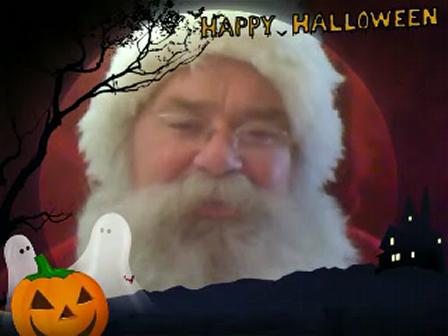 Holloween and Santa