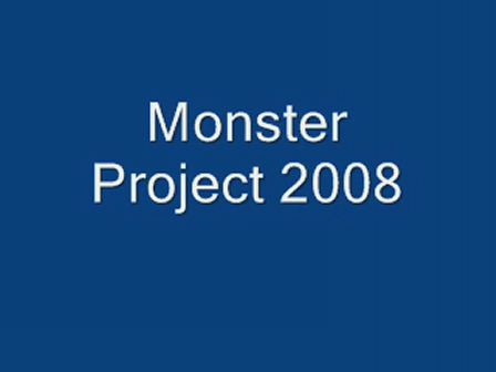 Monster Project Voting