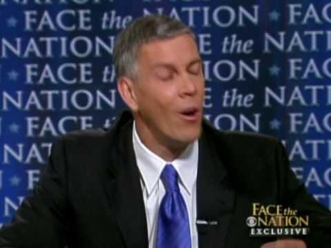 Education Secretary Arne Duncan On CBS Face The Nation