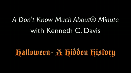 Don't Know Much About Minute - Halloween