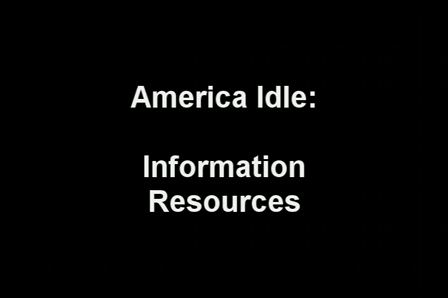 America Idle: Information Resources