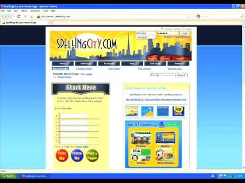 SpellingCity Customize Sentence
