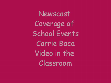 Final Video School News Cast