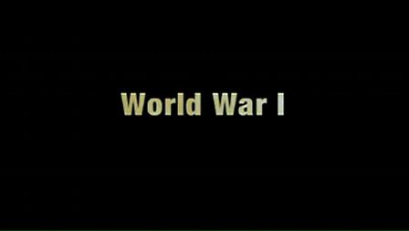 FLOL 4: World War I