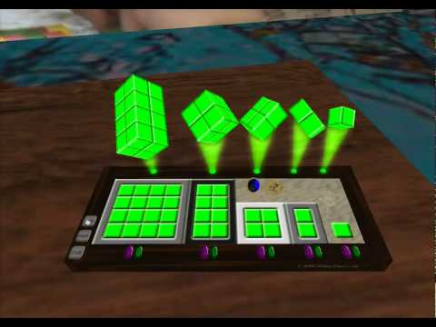 Math Visualization: Cooper's Lab in Second Life
