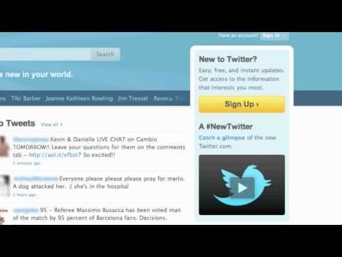 Twitter basics - Technical glossary