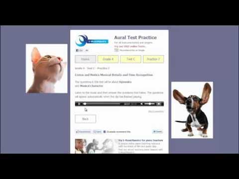 ABRSM Aural Tests Grades 1 - 5 UK VERSION