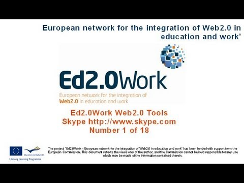 A series of 18 videos on Web20Tools
