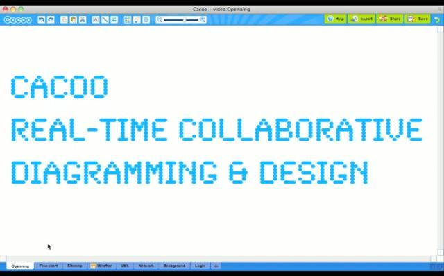 Cacoo - Real-time Collaborative Diagramming & Design