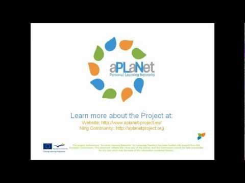 aPLaNet  Using a professional social network