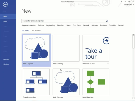 New: Visio 2013 Training