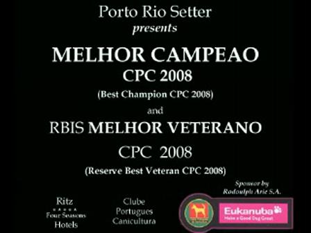 BIS Best Champion portugal 2008 and RBIS Best Veteran portugal 2008