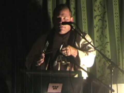 Throat Singer, Sound Healer  Matthew Kocel chanting mantra