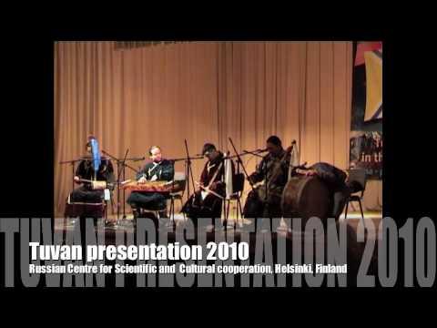 Tuvan presentation in Finland 2010