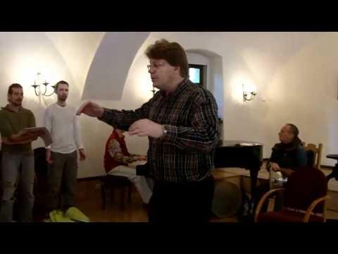 European Overtone Choir - behind the scenes...