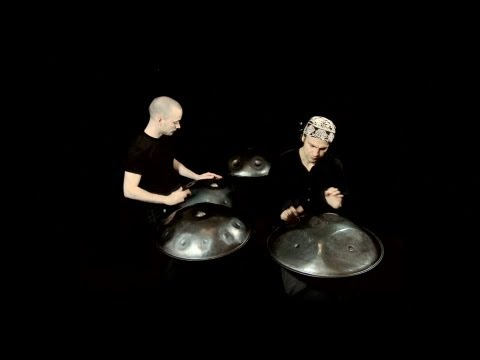 Hang (drum) and handpan duet Nadishana-Kuckhermann
