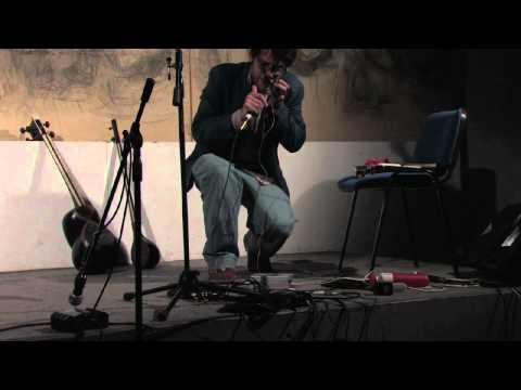 DANIBAL electric jew's harp, live looping at Marranzano World Festival 2012