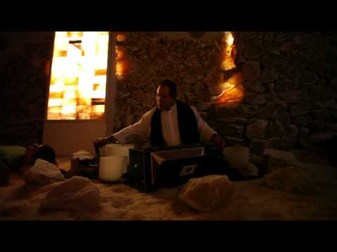 Meditation Music - Relaxing Music in a Himalayan Salt Cave