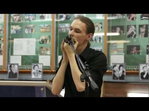Improvisation on Vargan (Jew's harp) by Alexandr Dernovoy @ People of the World Khomus Museum 2012