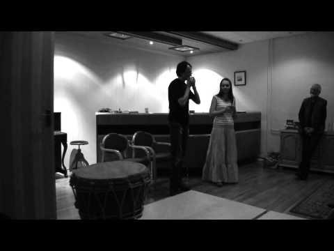 Olkhon Gate Duo at Norwegian Jew's Harp and Norwegian Dulcimer festival 2012