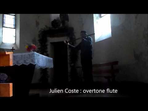 Julien Coste Overtone flute 7