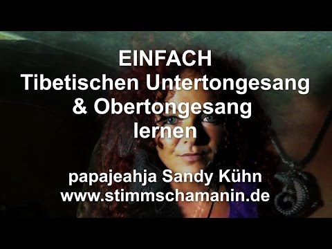 EINFACH Untertongesang & Obertongesang lernen