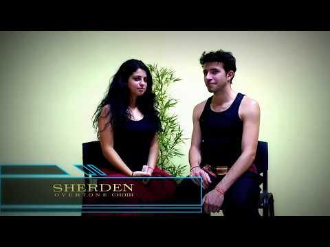 SHERDEN OVERTONE SINGING CHOIR - Om Nam Neo ( Overtone Singing Duet  - Canto Armonico)