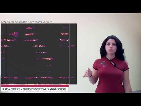 Canto Armonico/Overtone Singing con spettrogramma - Ilaria Orefice