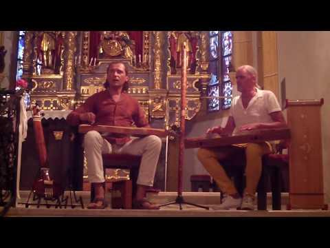 Aionigma: DER LINDENBAUM (Overtone Singing - Obertongesang) Am Brunnen vor dem Tore