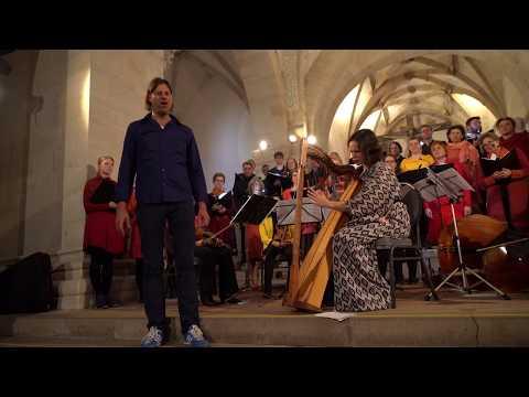 Polyphoner Obertongesang & Harfe: Timber Hemprich & Anna-Maria Hefele - Värmlandsvisan