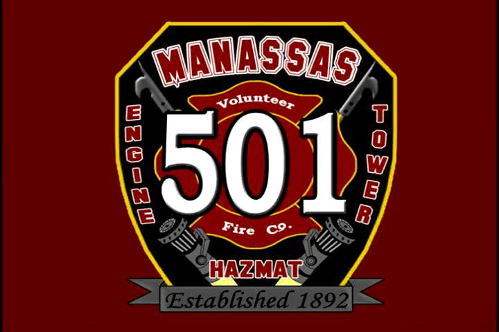 Manassas Fire - Srtucture Fire