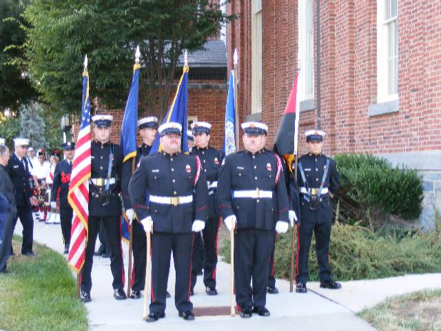 PA Memorial Service @ NFA