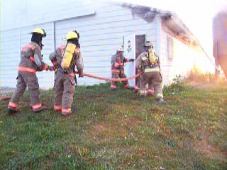 Turkey Pen Fire 10-13-07