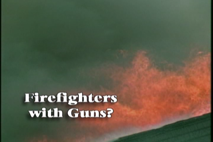 Firefighters With Guns?