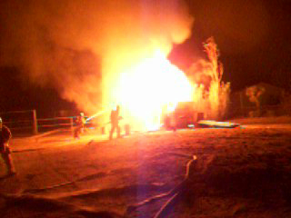 house fire in phelan c.a