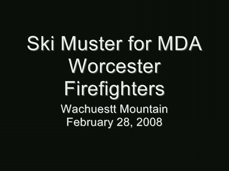 Ski-Muster for MDA: Worcester Firefighters