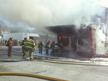 Mercer County Training burn