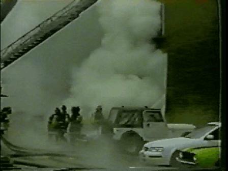 record warehouse fire pt.1  CHICAGO,IL  2001