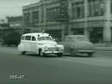Vintage Ambulance Drive By