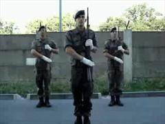 German Drillteam